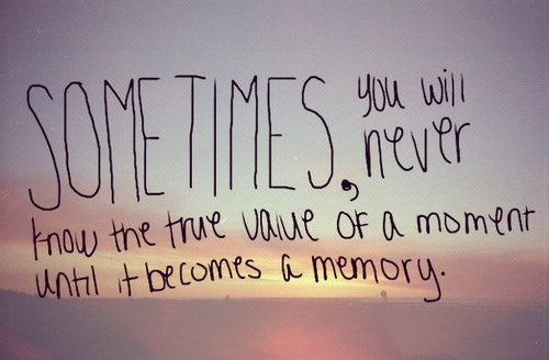 Quotes About Pictures Capturing Memories