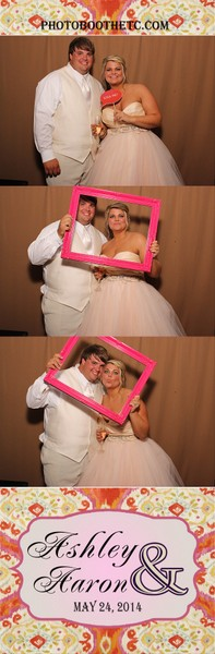 Southern Wedding Guests in a Photo Booth