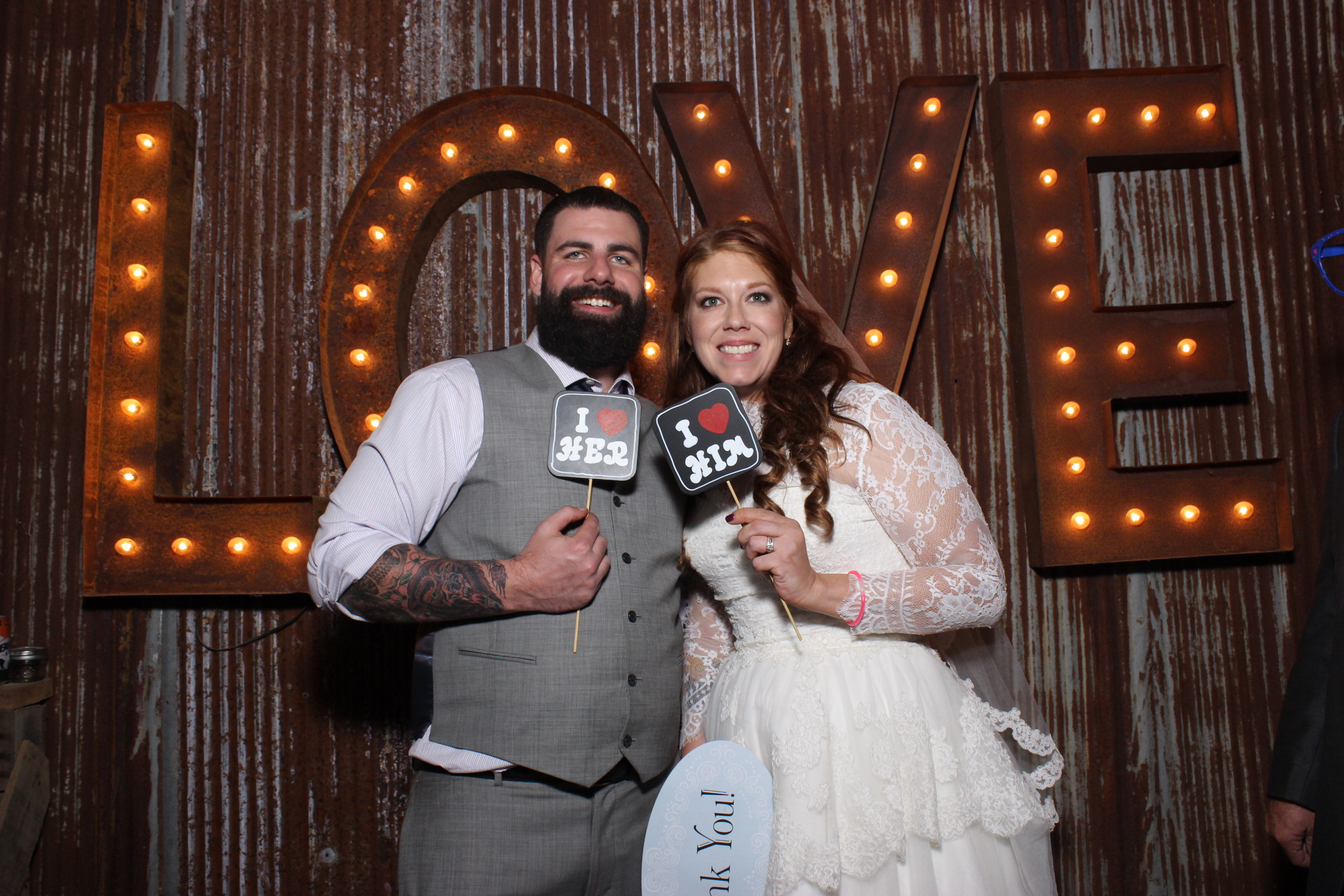 Rustic Wedding Photo Booth