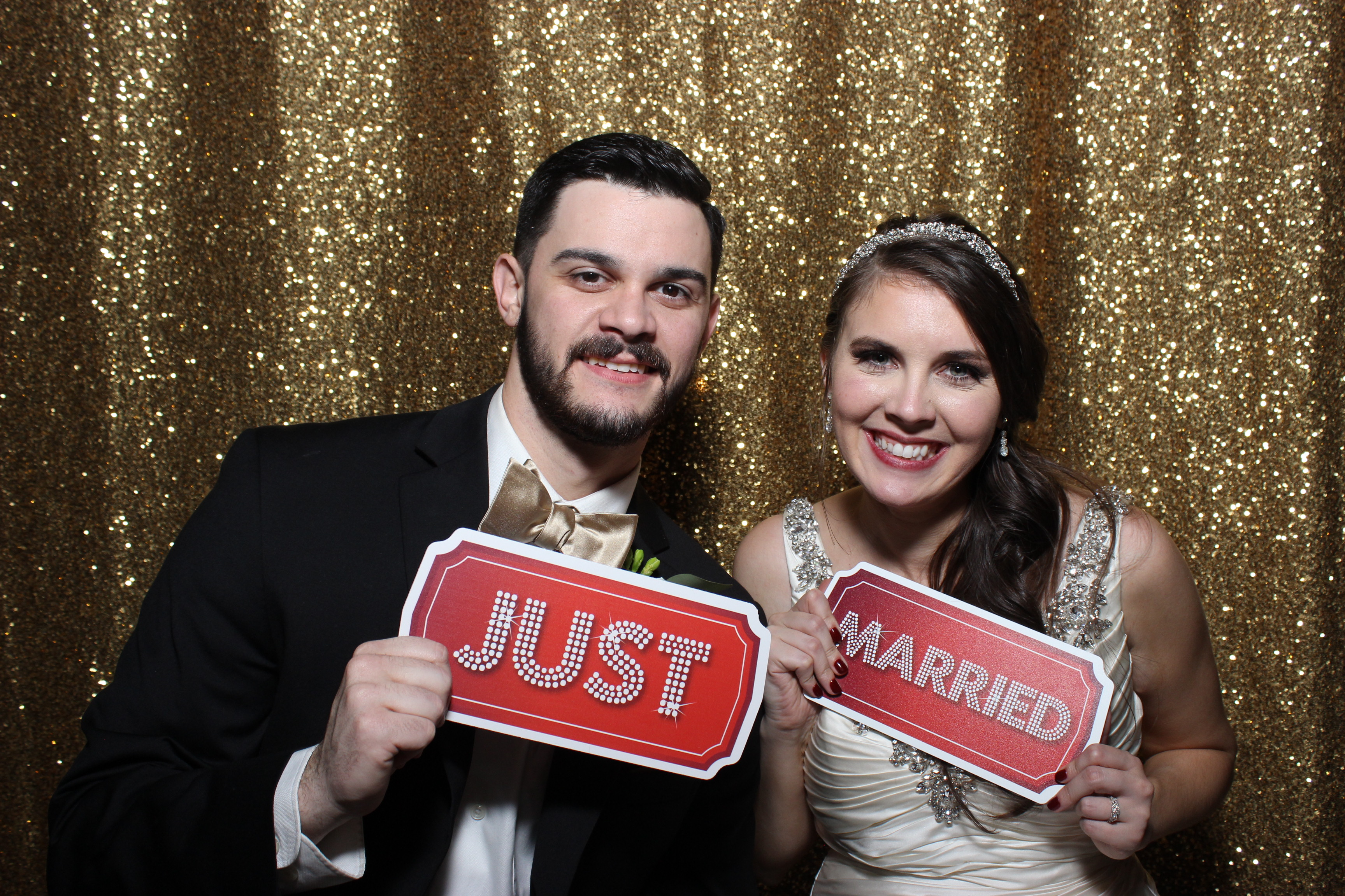Amazing New Year's Eve Wedding and Photo Booth Fun