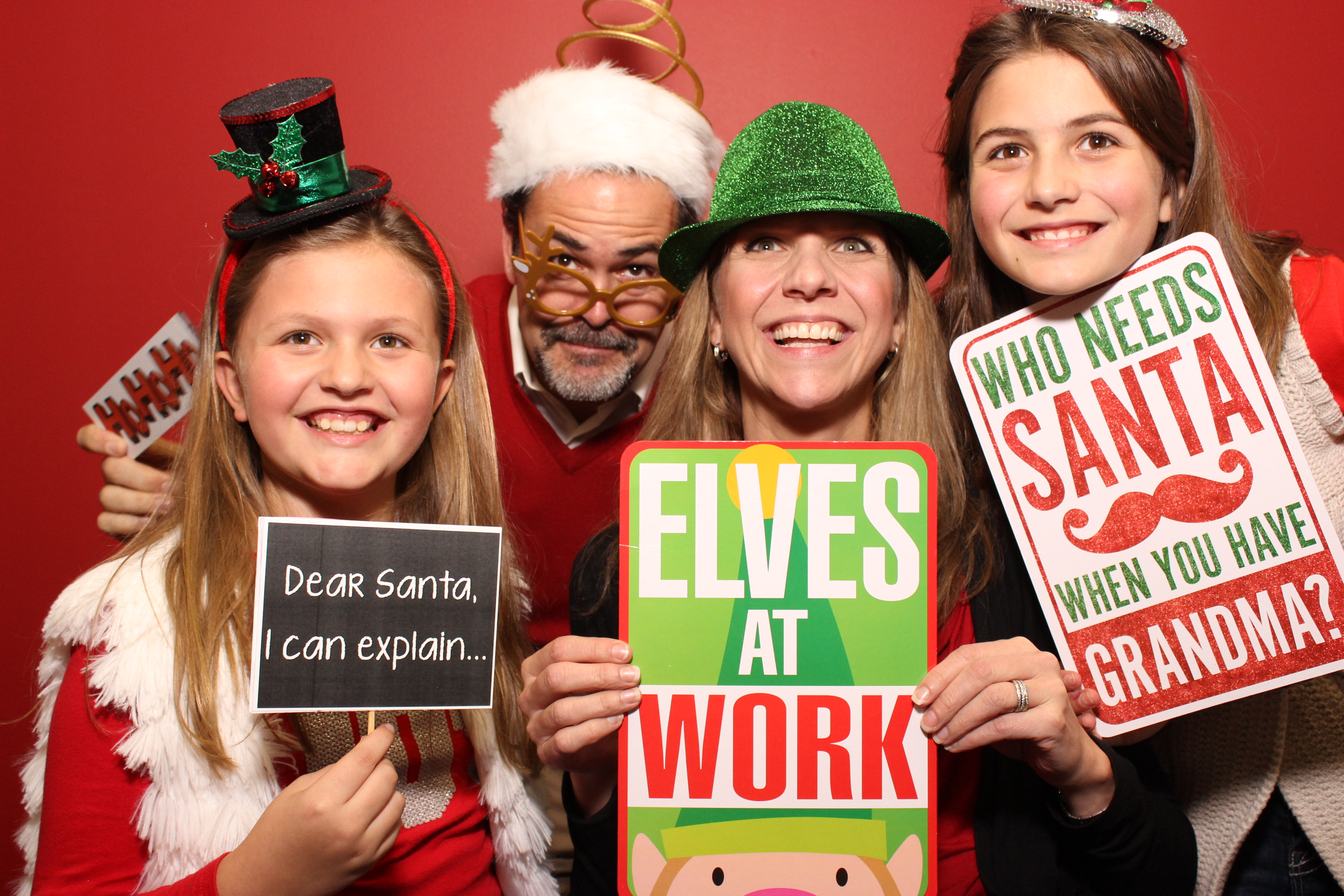 A Photo Booth Is Perfect For Any Holiday Party